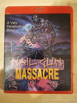 Nail Gun Massacre Blu Ray Slasher Classics 88 Films  • 20£