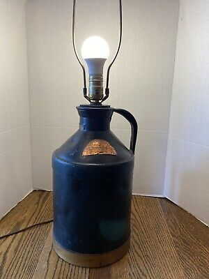 $50 • Buy Vintage 1934 H.P. Hood & Sons Eight Quart Milk Can Cream Can/Lamp