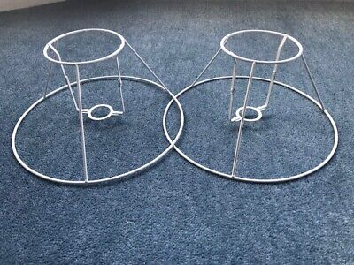 TWO Small Marks&Spencer Lampshade Wire Frames For Upcycle Lampshade Making:  • 2.70£