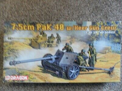Dragon 6249  German 7.5cm Pak 40 Heer Gun Crew  • 20£
