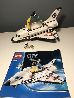 LEGO City SPACE SHUTTLE, 3367, Complete Set With Instructions • 9£