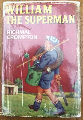 William The Superman, Richmal Crompton 1969 Newnes First Edition • 29£