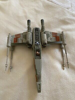$ CDN10.92 • Buy Vintage ORIGINAL Star Wars X-Wing Fighter Complete With Luke Pilot Figure