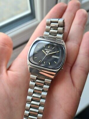 $ CDN89.96 • Buy Vintage 1981 Men's Seiko 5 Automatic Day Date Watch 80s 6309-522a