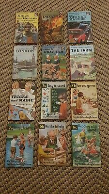 Vintage Ladybird Books Children's Learning Job Lot Bundle X12  • 15£