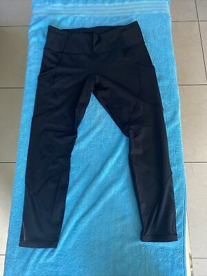 $ CDN77.39 • Buy Womens Lululemon Leggings Black Sz 12