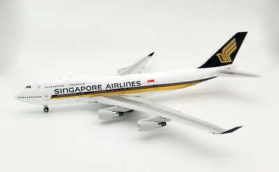 AU305.88 • Buy Jfox Wb7474051 1/200 B747-412 Singapore Airlines Reg: 9v-spq With Stand
