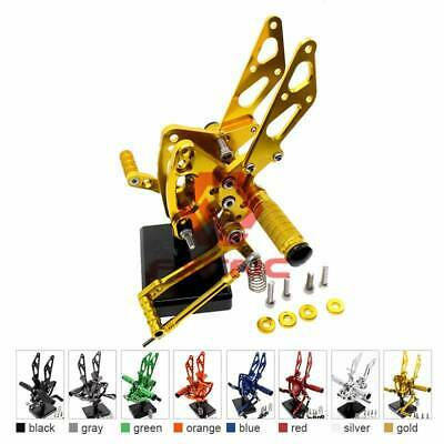 $100.26 • Buy FXCNC Rearsets Footpeg For  Ninja ZX6R ZX636 99-02 ZX-14R/ABS 12-16 Gold