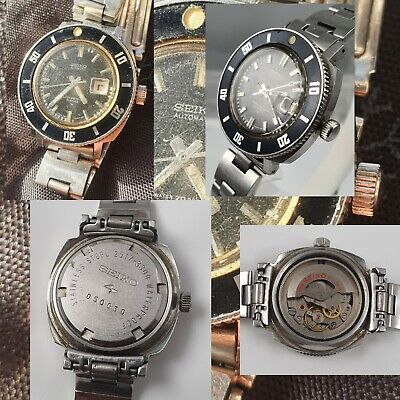 $ CDN195.83 • Buy Seiko Automatic 2517 3300 Water 70 Proof 21 Jewels Vintage Diving Watch1970 May