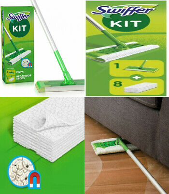 Swiffer Set 1 Floor Mop Plus 8 Dusters 1 - Pack  • 25.39£