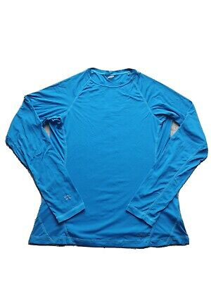 Womens Rab Long Sleeved Technical Base Layer Top Size 16 • 5.50£