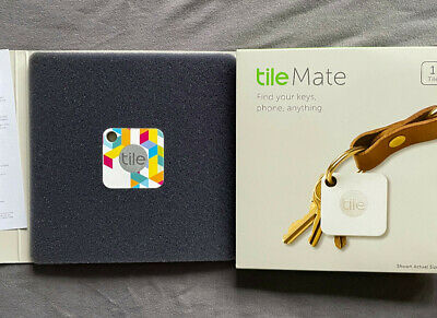 Tile Mate GPS Bluetooth Tracker - Key Finder Locator - SPECIAL EDITION - Single • 11.99£