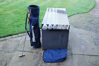 AU36.10 • Buy Full Set Of Men's Matching Golf Clubs Howson Tour Master Irons Woods Starter R/H