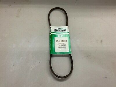 Genuine Factory Parts MTD 21  Lawn Mower Drive Belt 954-04260 / 754-04260 • 6.45£