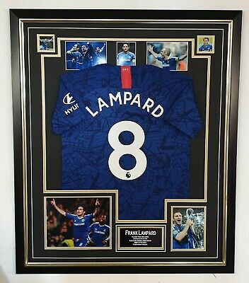 £395 • Buy Frank Lampard Signed Photo With Shirt Autographed Picture And Jersey