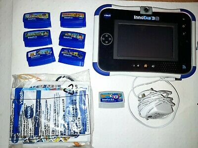 £44.99 • Buy Vtech Innotab 3s Blue Kids Educational/Gaming Tablet With Charger And 6 Games