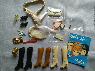 $ CDN20.88 • Buy VTG Lot Of Shoes And Accessories Barbie Mattel & Clone, Some TLC