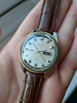 $ CDN54.68 • Buy Vintage 1971 Seiko Automatic Day/Date Watch 6119-8203