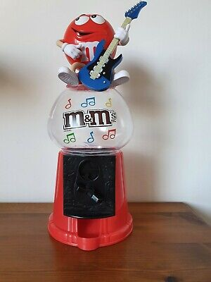 M&M's Sweet Dispenser And Red Money Box Collectable • 6£