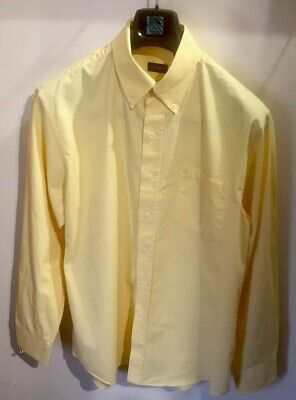 IZOD(formally Lacoste)SHIRT SIZE(M)YELLOW & WHITE CHECKED COTTON,con't..⏩⏩ • 7.90£