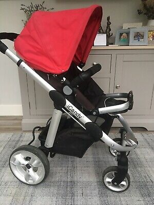 I Candy Apple 🍎 Pushchair / Pram / Travel System *Refurbished **New Wheels* • 37£
