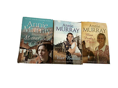 Annie Murray Books Mother And Child, War Babies, Miss Purdys Class • 5.99£