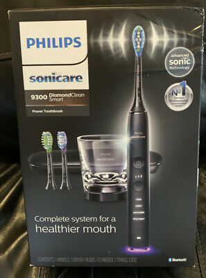 AU180.82 • Buy Genuine Philips Sonicare - DiamondClean Smart 9300 Toothbrush - Black NEW