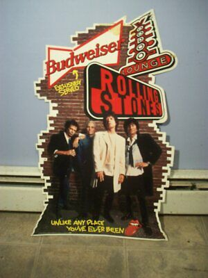 $ CDN221.57 • Buy Vintage 1994 Voodoo Lounge Budweiser Rolling Stones Metal Beer Sign 30 X 18