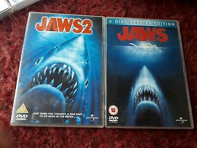 Jaws And Jaws 2 • 3.50£