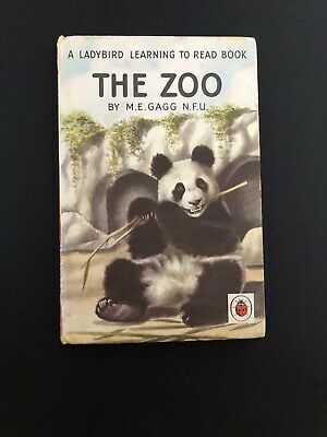 Ladybird Book - The Zoo - Early Learning,Series 563 - Nice Condition • 4£