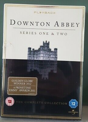 Downton Abbey Series 1 And 2 Box Set DVD, Brand New And Sealed  • 0.99£
