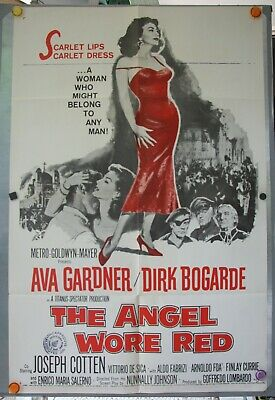 Angel Wore Red 1-SH * Ava Gardner (hot!), Dirk Bogarde; Vintage & Mint * Look!  • 30.03£