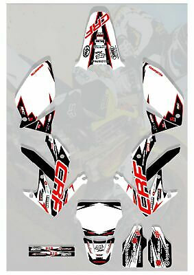 $83.70 • Buy Graphics Kit Decals FIT 2005-2008 Honda Crf450R CRF 450 450R Shroud