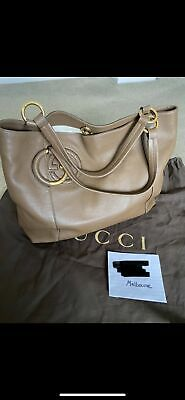 AU499 • Buy Gucci Leather Tote Bag