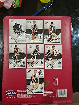 AU35 • Buy Collingwood Pies Afl Cards Signed X7