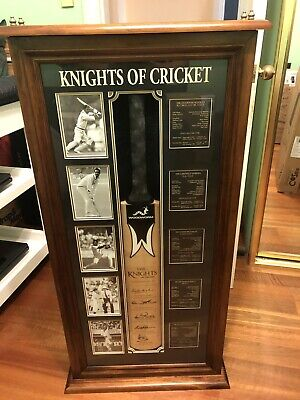 AU499 • Buy Signed Knights Of Cricket Bat (Limited Edition 50 Of 55)