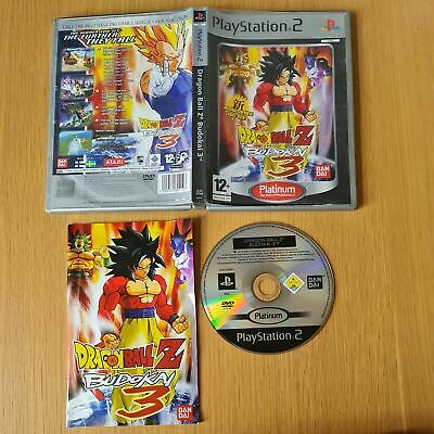 £12.99 • Buy Dragon Ball Z Budokai 3 Playstation 2 Ps2 Pal Game Complete With Manual Free P&p