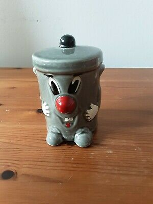 Vintage Dusty Bin Money Box   3- 2- 1 Ted Rogers Original 321 Game Show 1980's • 10.50£