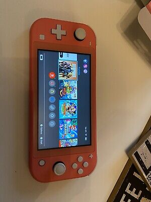 $ CDN264.62 • Buy Coral Nintendo Switch Lite Console With Sonic Game