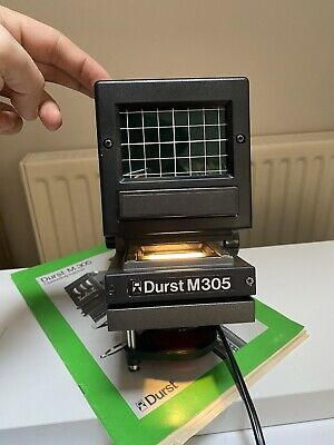 £75 • Buy Durst M305 Black And White Photo Enlarger With Lens And Manual