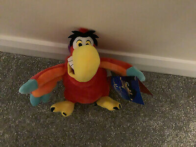 Disney Store Princess Aladdin Iago Bird Aladin Plush Soft Rag Doll NEW Teddy • 0.99£