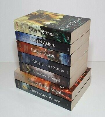 The Mortal Instruments Series, Cassandra Clare, Books 1-5, The Infernal Devices • 17£