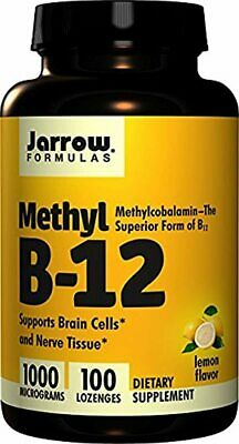 Jarrow Formulas Methylcobalamin (Methyl B12), Supports Brain Cells And Nerve Tis • 28.91£
