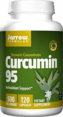 Jarrow Formulas Curcumin 95, 500 Mg, 120 Count X 2 • 67.55£