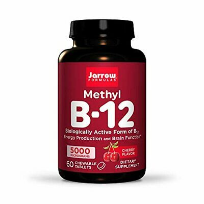 Jarrow Formulas Methylcobalamin (Methyl B12), Supports Brain Cells, 5000 Mcg, 60 • 15.13£