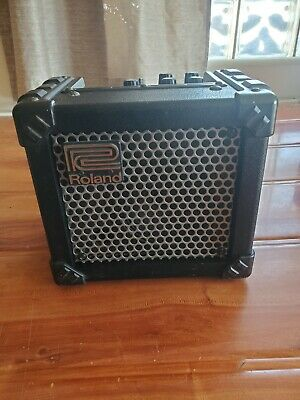 AU115.19 • Buy Roland Micro Cube Guitar Amplifier W/ Built In Effects And Tuner Tone M-Cube