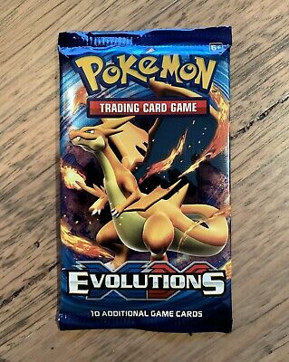 AU39.50 • Buy 1x Pokemon XY Evolutions Booster Pack - New From Booster Box❤️- Unweighed!