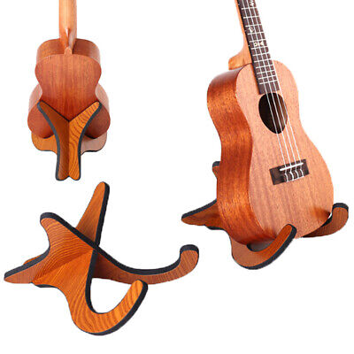 AU8.81 • Buy Ukulele Holder Stand Wooden Guitarra Accessories Stand Instrument Accessories Gw