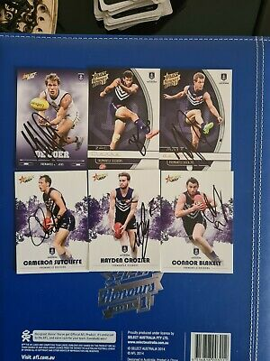 AU15 • Buy Fremantle Dockers Signed Afl Cards