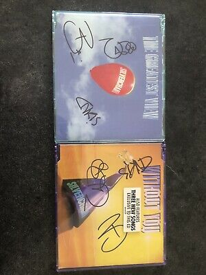 AU150 • Buy Silverchair Signed Singles The Greatest View And Without You
